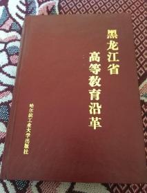 黑龙江省高等教育沿革(精装本)