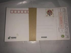 2011中国邮政 贺年有奖 邮资明信片  0.8元 100枚合售 连号