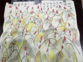 黄永玉漫画-人山人海,都是接儿子放学的爷爷奶奶,爸爸妈妈