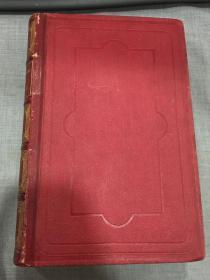 1862年西文经典《德塞维涅夫人的信》(LETTRES CHOISIES DE MADAME DE SEVIGNE)精装全一册(英文古旧书)钢版画插图