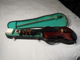 天使牌4分之4成人小提琴