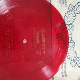 薄膜唱片(歌曲~我们是毛主席的好战士,枪杆子永远听党指挥,步调一致向胜利,高炮战士之歌,我爱我的坦克车)