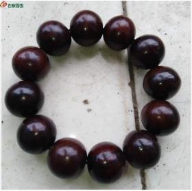 大型酸枝木2.0手串包酸枝木珠子直径2厘米