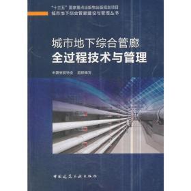 城市地下综合管廊全过程技术与管理
