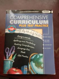 COMPREHENSIVE CURRICULUM -PLUS TEST PRACTICE 综合课程(自然拼读法、阅读理解、语言艺术、拼写词汇、数学)-再加上测试实践 ( 英文原版 3年级 英文教材