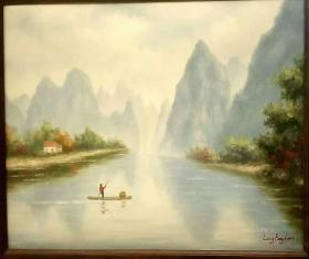 名家油画作品2