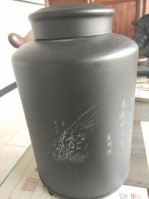 铁质茶叶罐