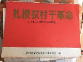 扎根農村干革命(知識青年畫選)