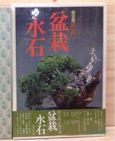 决定版 传统之美 盆栽·水石 8开全彩 日本水石盆景花盆400余件