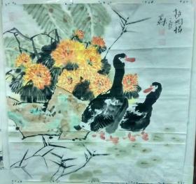 中国美协会员杨文森国画作品