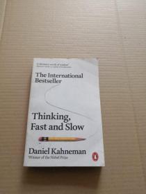 英文原版Thinking, Fast and Slow