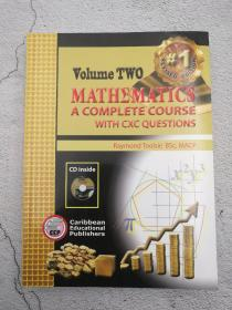 mathematics : a complete course with cxc questons  volume two(无CD)第二卷