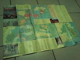 新版青岛交通旅游图