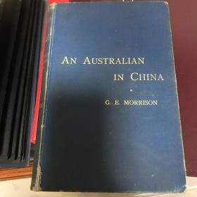 莫理循签赠本《一个澳大利亚人在中国》