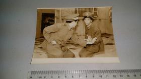 1987独臂将军 丁晓兵练习擒拿格斗留影