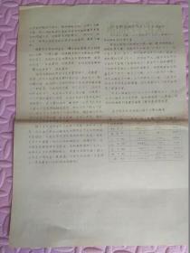 《文化学习简报》创刊号1957年6月25日