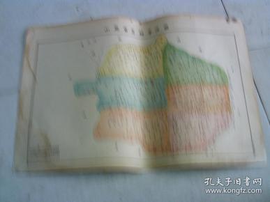 山东省恩县学区图