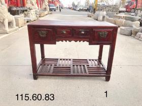 民国时期 办公帐桌 全品牢固 尺寸115/60/83cm,可做书桌或茶桌