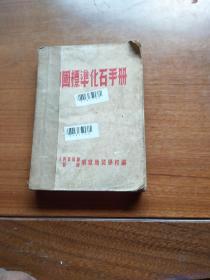 中国标准化石手册
