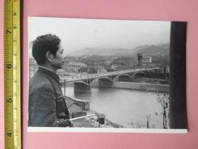 照片,1980年,浙江绍兴新昌县,新昌大桥,新昌县大佛寺等4张,历史影像
