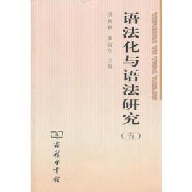 语法化与语法研究5