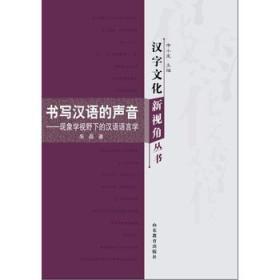 汉字文化新视角丛书-书写汉语的声音——现象学视野下的 汉语语言学