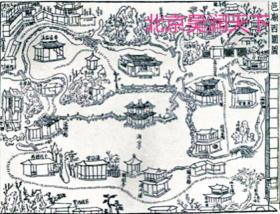 明代上海豫园图