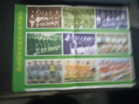足球世界杂志中页插图:历届欧洲足球锦标赛冠军榜