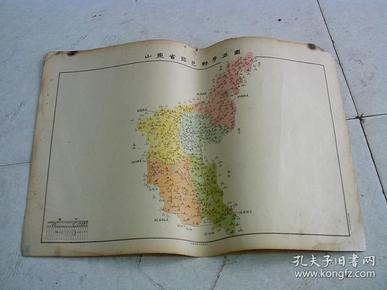 山东省临邑县学区图