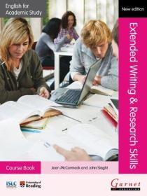 English for Academic Study: Extended Writing & Research Skills Course Book