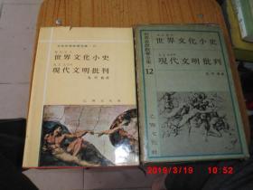 韩文  世界思想教养全集 12--世界文化小史  现代文明批判