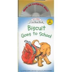 Biscuit Goes to School (Book + CD) (My First I Can Read)小饼干去上学