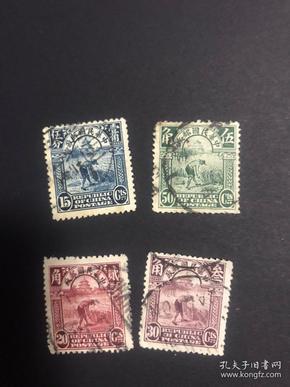 民国帆船农获邮票