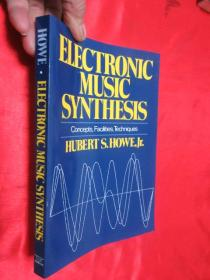 Electronic Music Synthesis: Concepts, Facilities 【详见图】