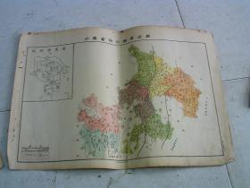 山东省临沂县学区图