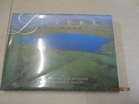 LOZERE  des sites   洛泽尔     精装横16开 画册   英文版  实物图  品自定  32号