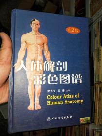 人体解剖彩色图谱  第二版