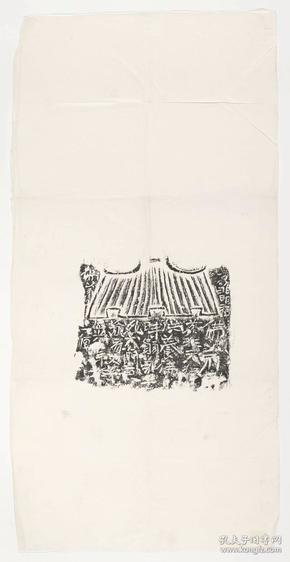 荔非天狚造像记。原刻。东魏刻石,民国拓本,拓片尺寸36.87*71.4厘米,宣纸原色微喷印制。定制产品不支持退货