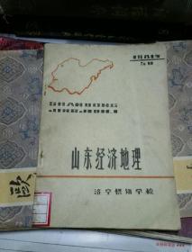山东经济地理