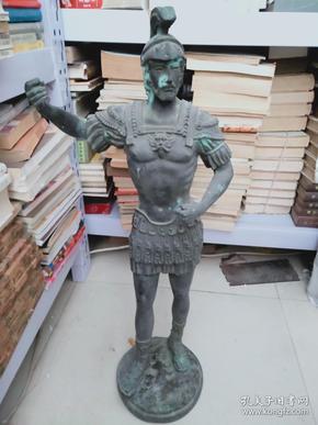 """大件 趙成民 銅雕塑   重約14斤  ***趙成民*** : 男,漢族。1946年生于中國吉林省長春市,現為北京畫院藝委會委員,國家一級美術師,中國美術家協會會員,我國當代著名的雕塑家、中國水墨畫家、書法家、也是壁畫、油畫等最全面的綜合藝術家,被稱為""""中國現代中國水墨美術館理事會理事  值得收藏"""