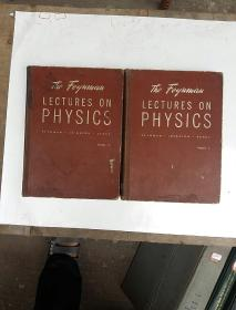 the Feynman lectures on physics 1+2合售(H4999)
