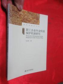 职工企业年金权益保护机制研究    (作者签名赠本)   【小16开】