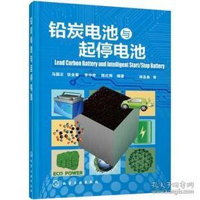 【正版】铅炭电池与起停电池 马国正