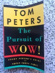 英文原版 The Pursuit of Wow! Every Persons Guide to Topsy-Turvy Times