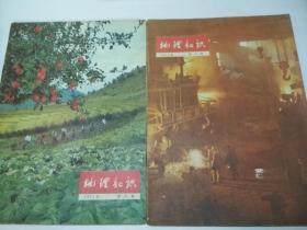 地理知识(1975年第5.8期,2本合售)