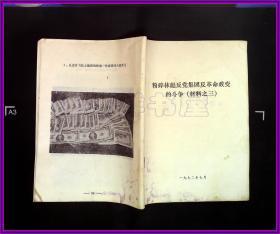 粉碎林彪反党集团反革命政变的斗争(材料之三)