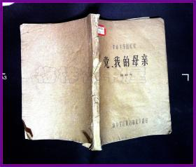革命斗争回忆录 党,我的母亲 黄朝天 南京军区
