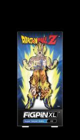 全新七龙珠徽章 美国FiGPiN出品 超级赛亚悟空立式徽章金属胸针 FiGPiN Dragon Ball Super: XL Super Saiyan Goku