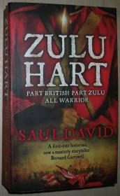 英文原版书 Zulu Hart: (Zulu Hart 1) (George Hart) Paperback –2009 by Saul David  (Author)