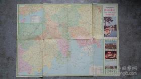 1988年珠江三角洲交通旅游图